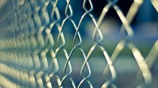 Free Mesh Fencing Around Prison Stock Photography - 83012482