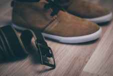 Free Belt And Shoes Stock Images - 83013014