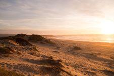 Free Desert Landscape At Sunset Stock Photos - 83013333