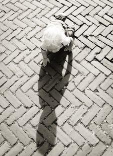 Free Baby Crawling On Brown Bricks During Daytime Stock Images - 83013794
