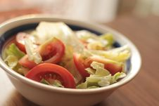 Free Bowl Of Salad Royalty Free Stock Image - 83013936