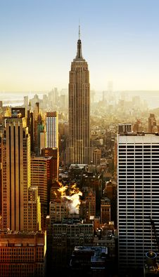 Free Empire State Building, Manhattan, New York Stock Image - 83014011