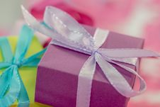Free Wrapped Gift Boxes Royalty Free Stock Photography - 83014097