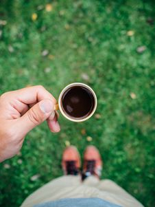 Free Drinking Black Coffee Royalty Free Stock Images - 83014559