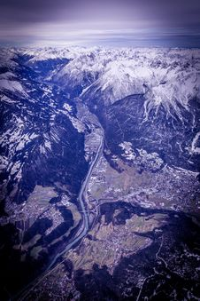 Free Aerial View Photography Of White Snow Mountain During Daytime Royalty Free Stock Photography - 83014677
