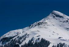 Free Snowy Mountain Peak Stock Image - 83015781