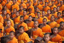 Free Monks Sitting Stock Photo - 83016000