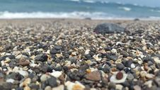 Free Pebbles On Beach Stock Image - 83016071