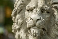 Free Lion Face Statue Stock Photo - 83016110