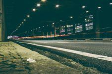Free Long Exposure Of Street Stock Photos - 83016273