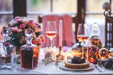 Free Beautifully Served Table For Dinner Royalty Free Stock Photo - 83016605