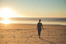 Free Girl On Beach Royalty Free Stock Photo - 83016765