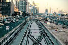Free Traffic In Dubai, UAE Stock Images - 83016854