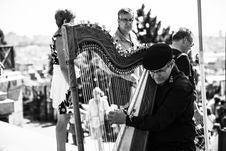 Free Metal Harp Royalty Free Stock Photos - 83017238