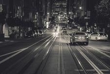 Free San Francisco, California At Night Royalty Free Stock Image - 83017426