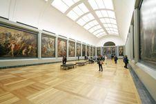 Free Exhibit Painting Display Stock Image - 83017431