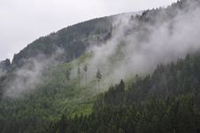 Free Fog On Side Of Mountain Stock Photography - 83017712