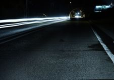 Free Gray Concrete Road During Night Time Royalty Free Stock Image - 83018106