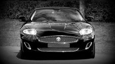 Free Grayscale Photo Of A Black Sports Car Convertible Royalty Free Stock Photography - 83019407