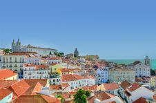 Free Lisbon, Portugal Roof Tops Stock Images - 83019654