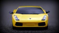 Free Lamborghini Miniature Stock Image - 83020221