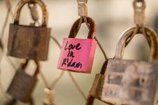 Free Locks Of Love, Rotterdam, Netherlands Royalty Free Stock Photo - 83020895
