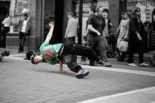 Free Break Dancer On City Street Stock Image - 83022341