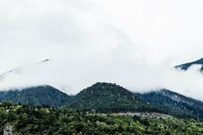 Free Fog Over Wooded Hillside, Andorra Royalty Free Stock Photo - 83022515