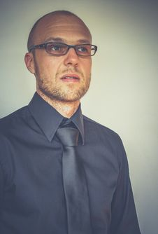 Free Portrait Of Man With Tie Stock Photos - 83022533
