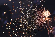 Free Metal Spark In Time Lapse Photography Royalty Free Stock Images - 83023339