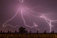 Free Lighting Strike Royalty Free Stock Images - 83024059