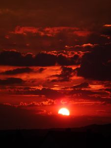 Free Red Cloudy Sky During Sunset Stock Images - 83024304