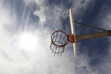 Free Basketball Hoop Royalty Free Stock Photography - 83024467