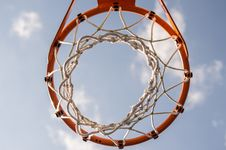 Free Basketball Basket Royalty Free Stock Photo - 83024675