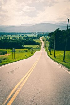 Free Driving On Highway Royalty Free Stock Photos - 83024978