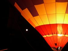 Free Ballon At Night Stock Photo - 83025770