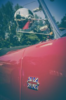 Free Classic British Automobile Stock Photography - 83026602