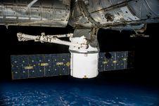 Free Satellite Orbiting Earth Stock Images - 83035574
