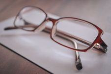 Free Eyeglasses On Paper Royalty Free Stock Photos - 83035578
