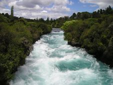Free Rapids On River, New Zealand Stock Photos - 83035863