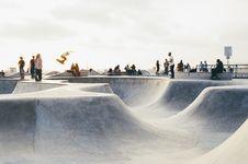 Free Skateboard Park Stock Images - 83035934