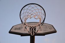 Free Backboard With Basket Royalty Free Stock Images - 83036039