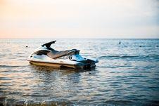 Free Jet Ski At Sea Stock Photo - 83036140