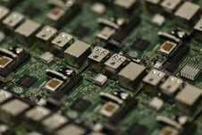 Free Computer Circuit Board Stock Image - 83036301