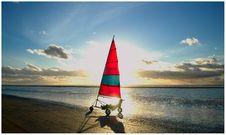 Free Wind Bike On Beach Stock Image - 83036431