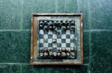 Free Vintage Chessboard Stock Image - 83036441