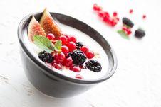 Free Berries And Cream  Royalty Free Stock Image - 83036496
