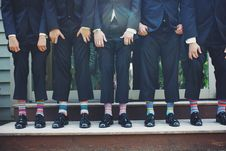 Free Businessmen With Colorful Socks Royalty Free Stock Photos - 83036828