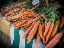 Free Bunches Of Fresh Carrots Royalty Free Stock Photo - 83037365