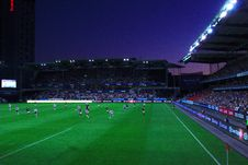 Free Football Stadium At Night Royalty Free Stock Images - 83037499